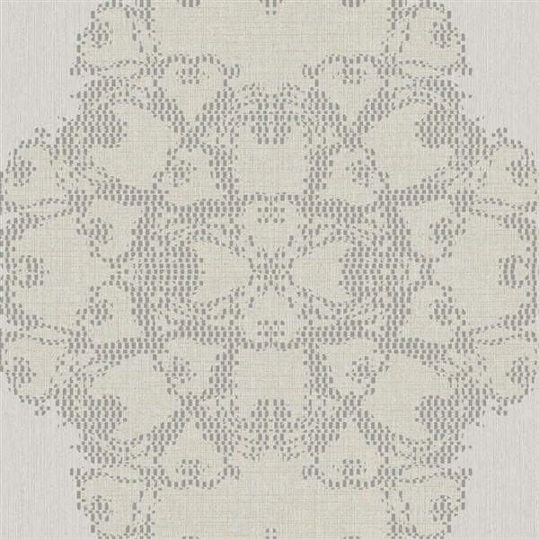 Papier peint géométrique classique de luxe