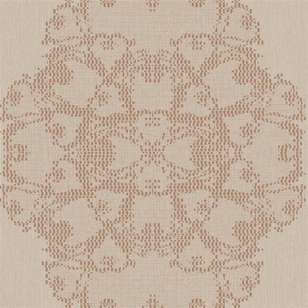 Papier peint géométrique de luxe