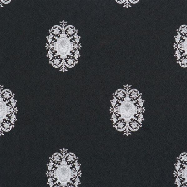 Wall Republic Black/Silver Classic Pattern Wallpaper