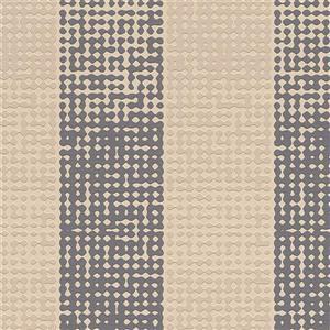 Papier peint  à rayures en pointillé