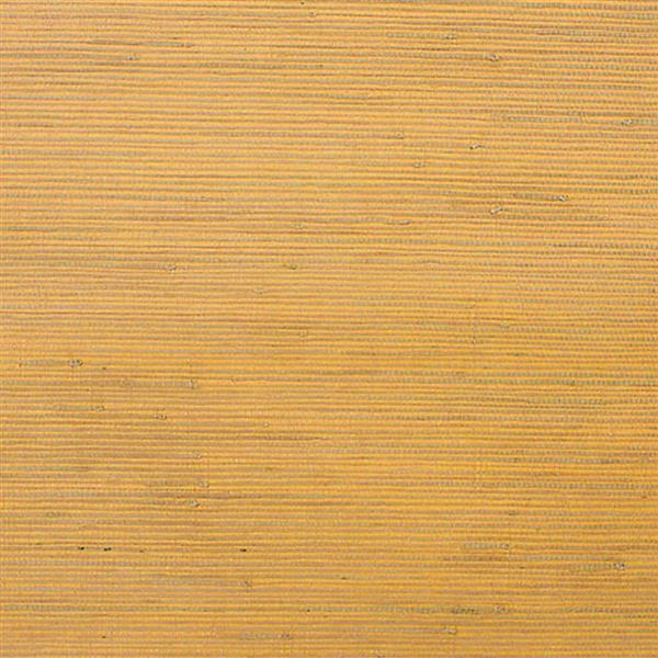 Walls Republic Yellow/Yellow Jute Grasscloth Wallpaper