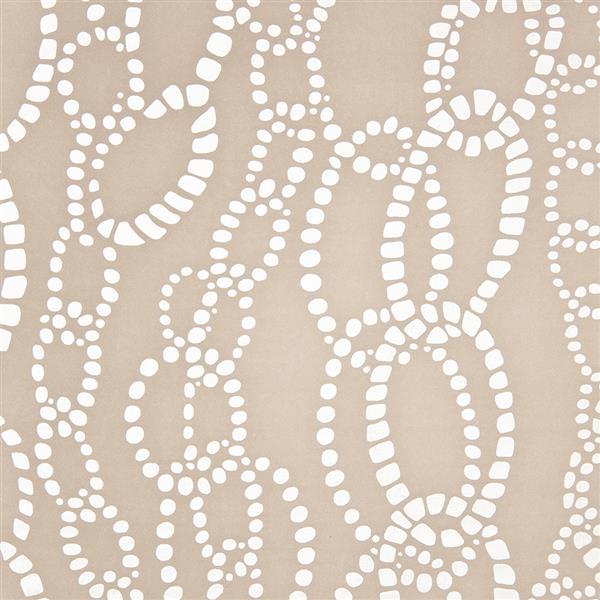 Papier peint à motif chaîne