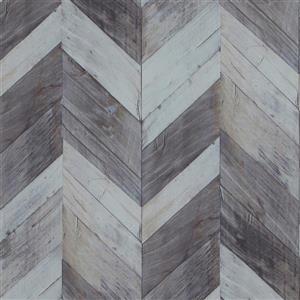 Papier peint à chevrons en bois