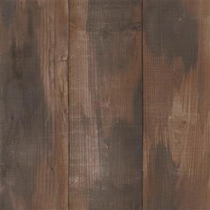 Papier peint  à panneaux en bois, brun/beige