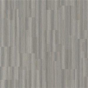 Papier peint à motifs géométriques texturés