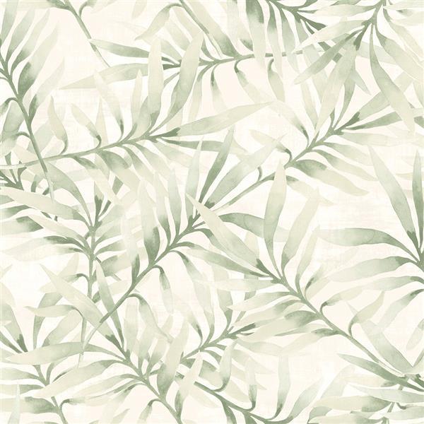 Papier peint à motif florale avec branches