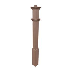 New England Arbors Burton Composite Lamp Post