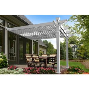Elysium Attached Louvered Pergola