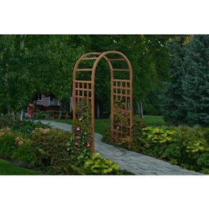 New England Arbors Brown Sierra Arbor