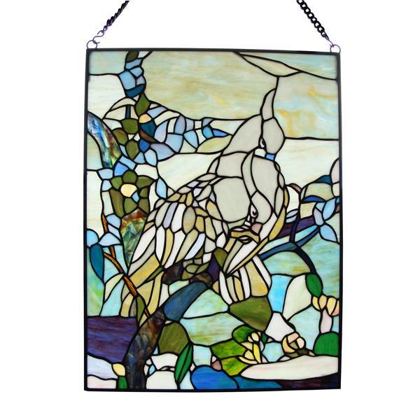 Tiffany Style Window Panel