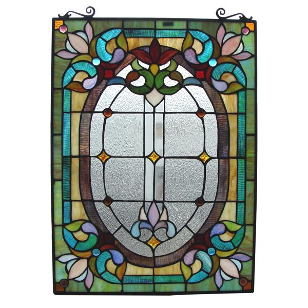 Fine Art Lighting Ltd. Tiffany Style Window Panel
