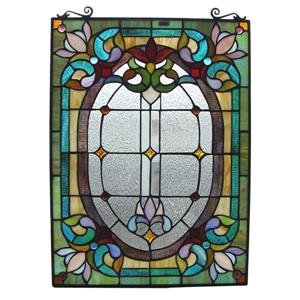 Tiffany Style Window Panel