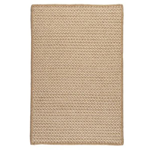 Colonial Mills Natural Wool Houndstooth 2-ft x 8-ft Tea Runner