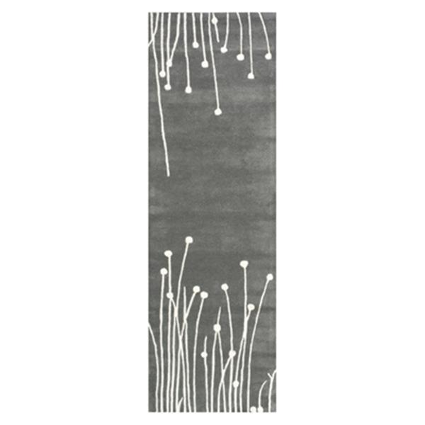 nuLOOM Hand Tufted Daza 3-ft x 8-ft Grey Runner