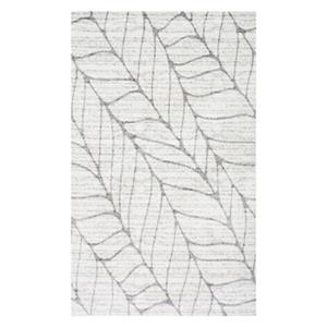 nuLOOM Boyce 7-ft x 9-ft Light Grey Area Rug