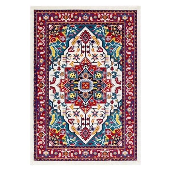 nuLOOM Persian Floral Elenor 5-ft x 8-ft Multicoloured Area Rug