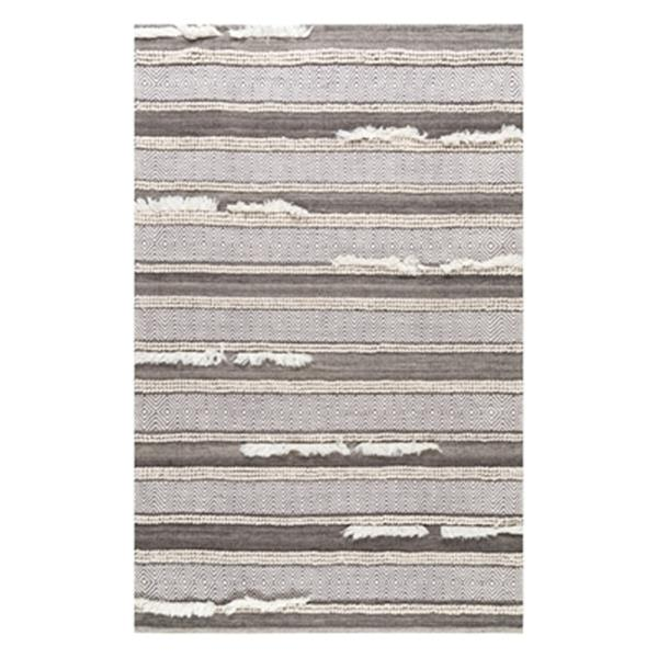 nuLOOM Chevron Liles 8-ft x 10-ft Brown Area Rug