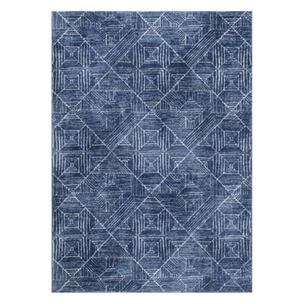 nuLOOM Vintage Wendolyn 5-ft x 7-ft Blue Area Rug