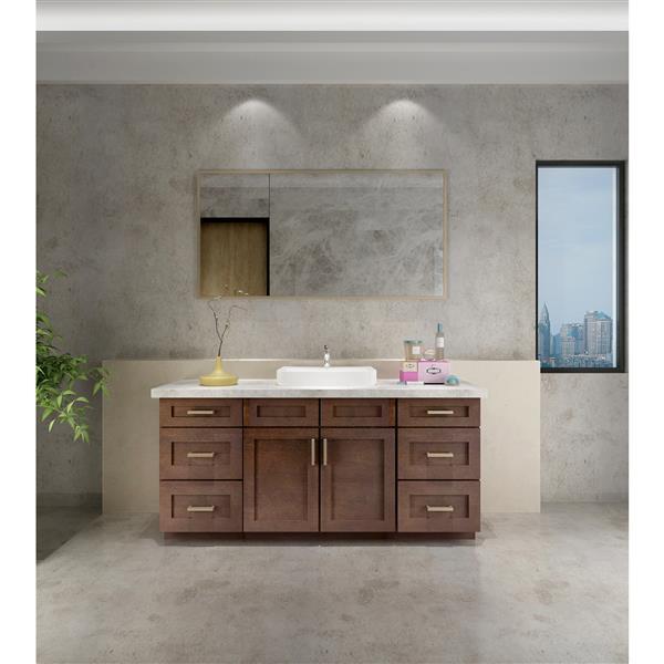 Cowry Espresso 69 In X 21 In X 31 50 In Cabinet Rona