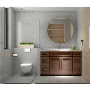"Meuble-lavabo 54"", expresso"