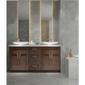 "Meuble-lavabo 63"", expresso"