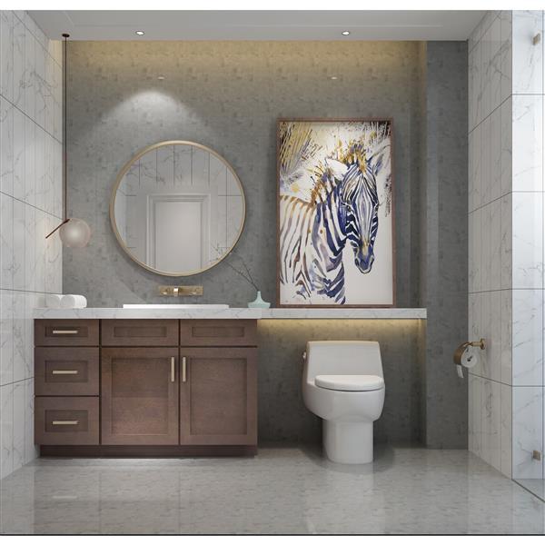 "Meuble-lavabo 51"", expresso"