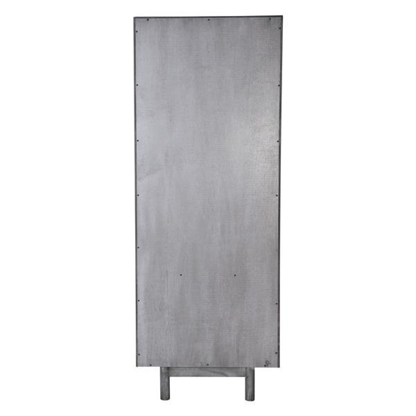 Zuo Modern Raven Shelf  - 23.6-in x 63-in - Wood - Grey