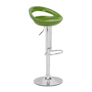 Tabouret de bar Tickle de Zuo Modern, 24 po, vert