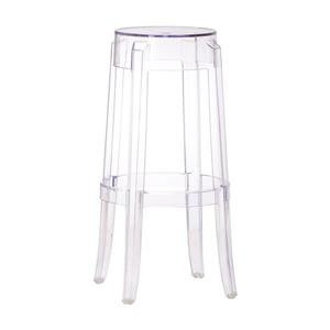 Zuo Modern Anime Polycarbonate Bar Stool - 29.5-in - Clear