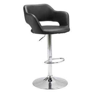 Zuo Modern Hysteria Bar Stool - 24.8-in - Black