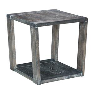 Zuo Modern Skyline Side Table - 23.6-in x 24-in - Grey