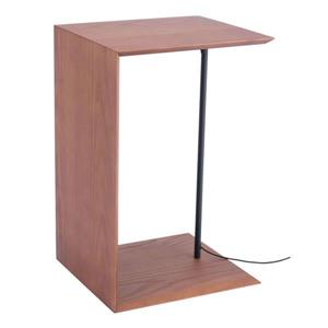 Zuo Modern Chester 13.8-in x 24-in  Brown Wood Side Table