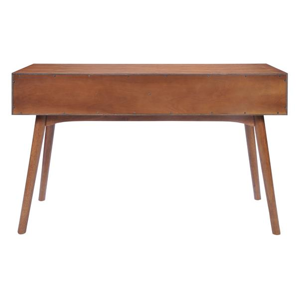 Zuo Modern Design Console Table - 47-in x 29.7-in - Brown Wood