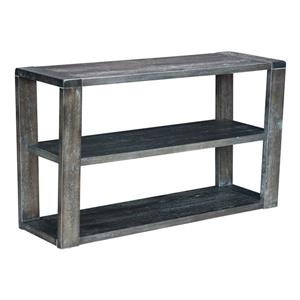 Zuo Modern Skyline 50-in x 29.9-in Gray Oak Veneer Console Table