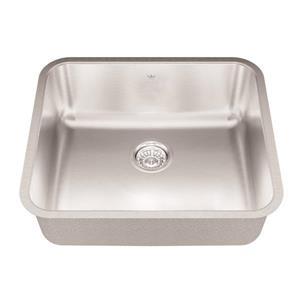 Kindred 21.75-in x 18.75-in Stainless Steel Single Sink