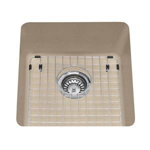 Kindred Franke 16.75-in X 18.13-in Champagne Granite Single Sink