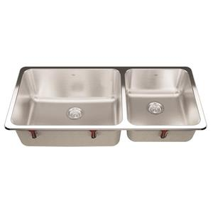 Kindred 41.5-in x 19.38-in Stainless Steel Single Sink