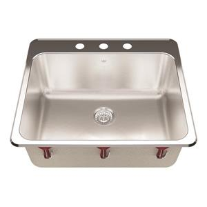 Kindred 22-in Stainless Steel Single Sink