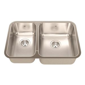 Kindred 26.88-in Stainless Steel Double Sink
