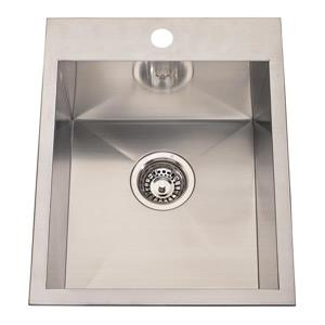 Kindred Franke 20.56-in X 16.13-in Stainless Steel Single Sink