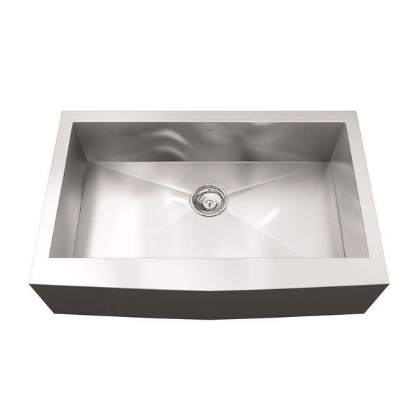 Kindred Franke 32.88-in X 20.69-in Stainless Steel Single Sink