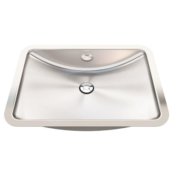 Kindred 20-in x 14-in Stainless Steel Single Sink