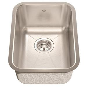 Kindred 13.75-in x 18.75-in Stainless Steel Single Sink