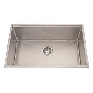 Kindred Designer Series 28.5-in x 18.5-in Single Topmount Kitchen Sink