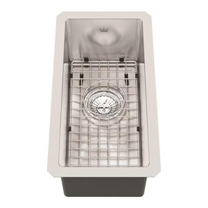 Kindred 10-in x 19-in Stainless Steel Single Sink