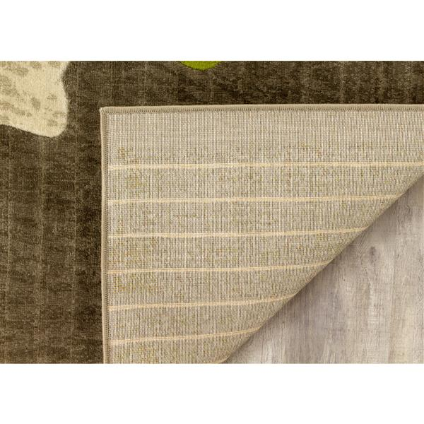 Tapis florale aquarelle de Kalora, 2' x 4'