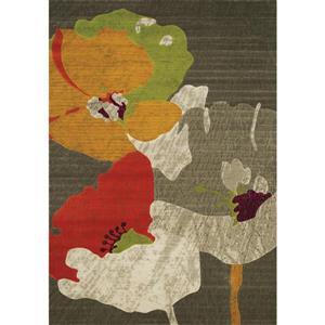 Tapis flroale aquarelle de Kalora, 5' x 8'