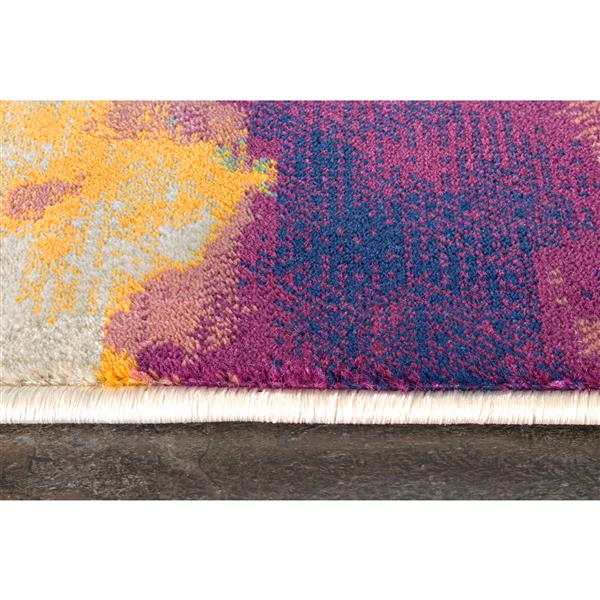 Kalora Topaz Paint Splash Rug - 8' x 11'
