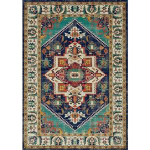 Tapis Topaz traditionel, multicolore