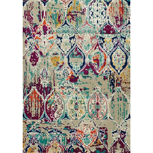Tapis Topaz décoratif de Kalora, 8' x 11'